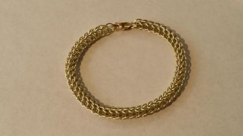 Gouden maliën armband <br/>  ◦◊◦ Jasmine  ◦◊◦